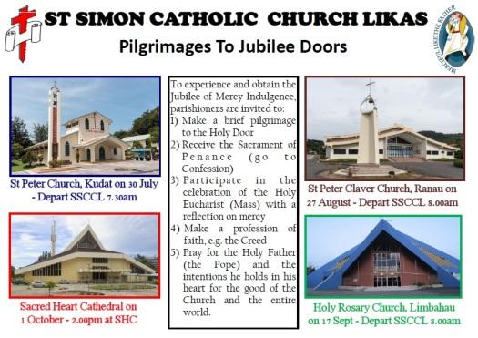 Jubilee doors