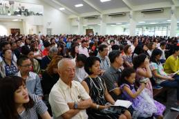 Some of the parishioners in Church.